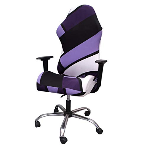 Jiyaru Gaming Chair Cover Stretch Office Computer Chair Slipcover Armchair Game Chair Protector Slipcovers #1