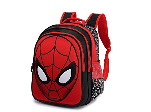School backpack for Boys and girls children's Cartoon Spider-Man orthopedic backpack bookbags for teenagers