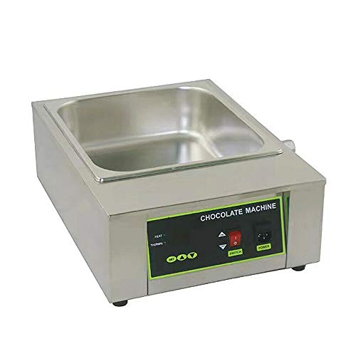 Electric Chocolate Melting Pot Stainless Steel Chocolate Melter 1 Tank...