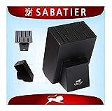 Sabatier International Bloc à couteaux Universel vide pour 7 Couteaux - Support à...