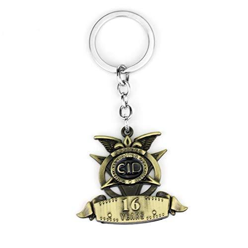 YUNMENG Schlüsselbund Schlüsselring Royal Enfield Motorrad Schlüsselbund Antik Bronze Legierung Schlüsselanhänger Motorrad Schlüsselbund Souvenir