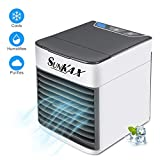 Sunkax Portable Air Conditioner Personal Air Cooler 4 in 1 USB Mini Air