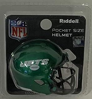 NY New York Jets 2019 Logo Riddell Speed Pocket Pro Football Helmet - New in package