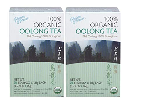 Organic Oolong Tea Prince Of Peace 20 Bag (2 Pack)