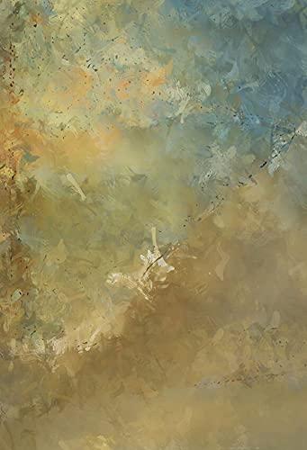 Fondo de fotografía Pintura al óleo Flor Boda Bebé Niño Retrato Telón de Fondo Foto Teléfono Estudio fotográfico Accesorios A1 9x6ft / 2.7x1.8m