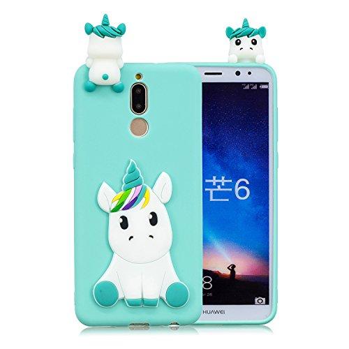 CoverTpu Funda Xiaomi redmi 8 Silicona 3D Unicornio