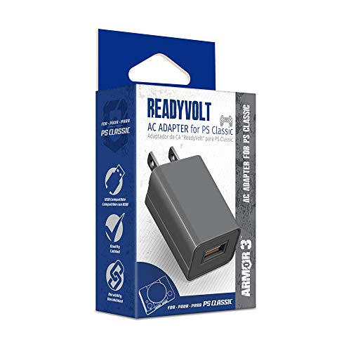 "Armor3 ""ReadyVolt"" USB AC Adapter for PlayStation Classic"