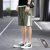 CYLZRCl Pantalones Cortos Elásticos Hombre Pantalón Trabajo Informal Verano Nuevos Pantalones Cortos Ropa Casual Ajuste Completo Inteligente (Color : 257, Tamaño : XXL)
