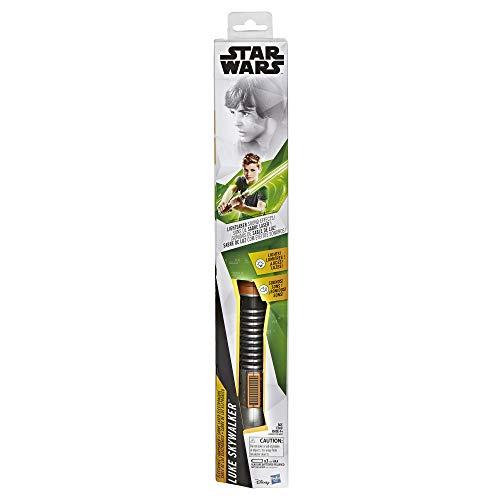STAR WARS - Sabre láser electrónico Verde de Luke Skywalker-Jouet, E3996101,