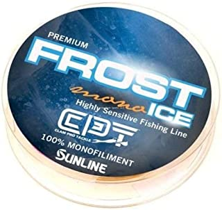 Clam 10989 CPT Frost Mono 5lb Clear 110 Yard