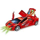 Zest 4 Toyz Funny Dancing car 3D Flashing Led Light Music 360 Degree