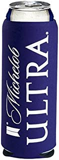 Michelob Ultra Slim Line Can Cooler- Set of 4