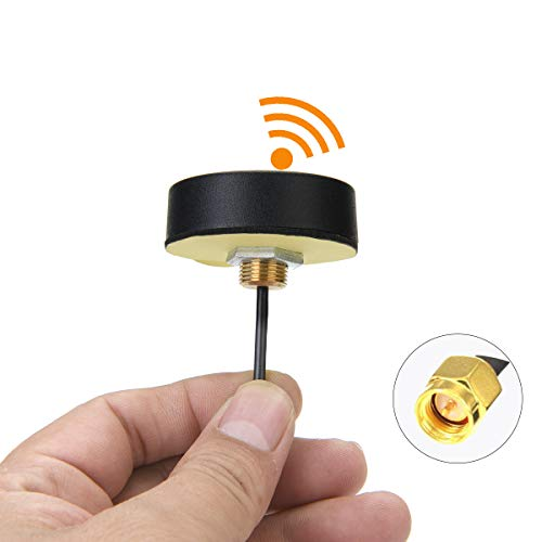 2.4G 5G 5.8 GHz Wifi Antenna Outdoor MINI Omni-Directional Dual Band 2dBi Screw-Mount Waterproof Antenna for Wireless Systems