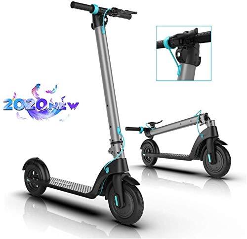 LBWARMB Patinetes electricos Adultos Deslizándose Kick Off Road Movimiento Scooters 12 Ah 10 Ah Batería extraíble de 8,5 Pulgadas y 10 Pulgadas 700W Motor Vespa eléctrica Plegable