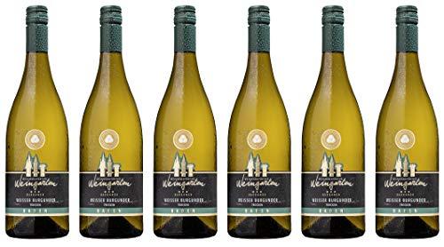 Weinmanufaktur Weingarten Weißer Burgunder Elegance 2018 Trocken (6 x 0.75 l)