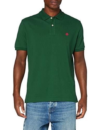 Springfield Herren 5ba Polo Basico Reg T7 My-c/24 Poloshirt, Grün (Green 24), X-Small