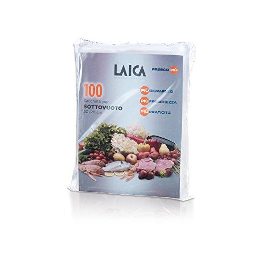 Laica VT35012 VT3501 2 Sachets pour machine à emballer sous-vide, Translucide