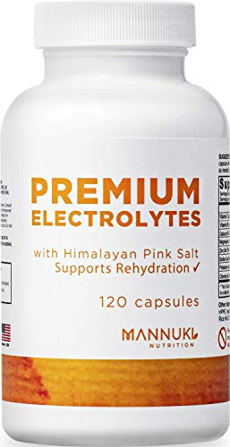 Clean Electrolyte Tablets, no Common Fillers no Silica, Magnesium Stearate or Silicon Dioxide - Rapid Rehydration, Muscle Cramping, Hangover Recovery and Keto Diet Support– Hydration Pack on a Pill