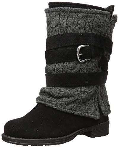 MUK LUKS Women's Nikita Boots - Black/Grey
