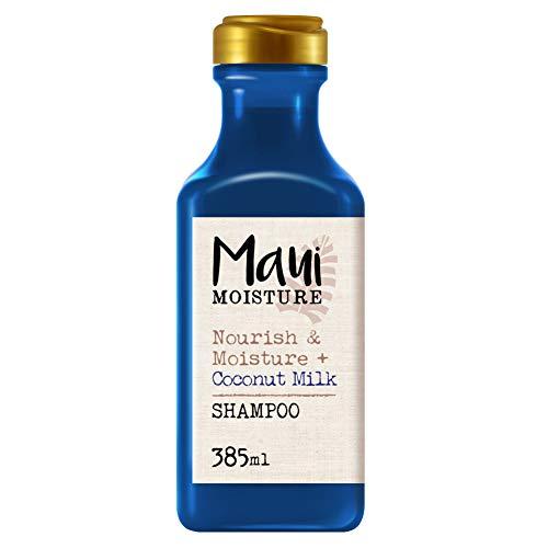 Maui Moisture, Champú Nutre e Hidrata con Leche De Coco, pelo Seco, 385 ml