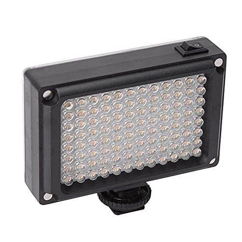 BAOZUPO Mini cámara de luz para fotografía pequeña para Exteriores, cámara SLR, fotografía Ligera, luz de Relleno para Disparos al Aire Libre