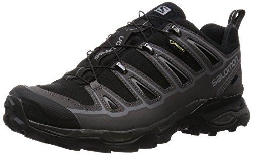 SALOMON X Ultra 2 GTX, Chaussures de Randonnée Basses Homme, Noir (Black/Autobahn/Pewter), 41 1/3...