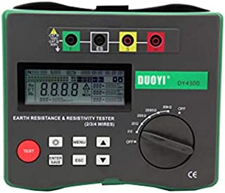 DUOYI DY4300 Digital Earth Tester Ground Resistance Tester Meter