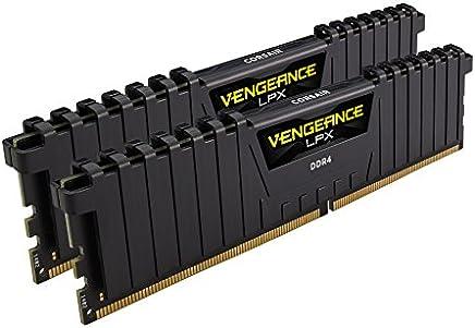 Corsair LPX 32GB (2x16GB) 3200MHz C16 DDR4 DRAM Memory Kit, Black (CMK32GX4M2B3200C16)
