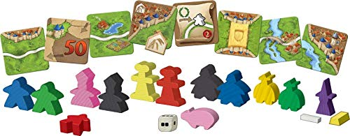 Carcassonne Board Game Big Box (BASE GAME & 11 EXPANSIONS)   Family Board Game   Board Game for Adults and Family   Medieval Strategy Board Game   Ages 7 and up   2-6 Players   Made by Z-Man Games