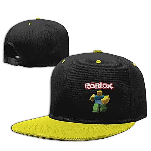 HomeMats Gorras de béisbol para niños y niñas unisex niños sombreros de sol ajustable Hip Hop sombrero niños Snapback Cap