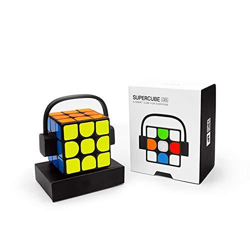 Mini Altavoz mágico, Altavoces cúbicos inalámbrica Bluetooth Manos Libres TF Tarjeta de luz LED de Tercer Orden Súper Rubik, para iPhone Mobile PC Phone,Rubik'scubebass
