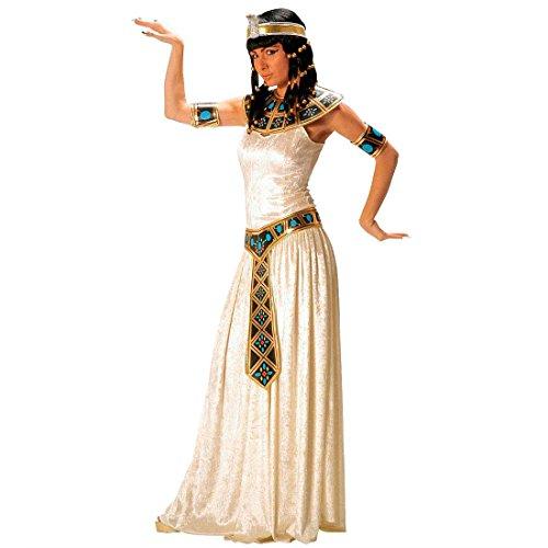 Cleopatra Kostüm Ägypterin Damenkostüm Samt M (38/40) Kleopatra Gewand Fasching Toga Ägypten Pharao Königin Faschingskostüm Ägyptische Göttin Kleid Karnevalskostüm Antike Mottoparty Verkleidung