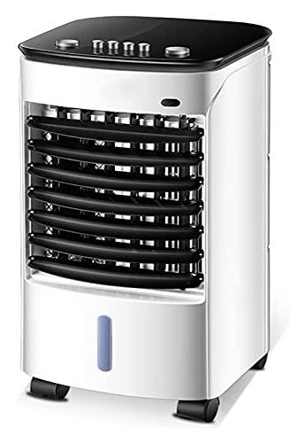 Aria condizionata mobile Aria condizionata Air Cooler Fan Raffreddamento portatile 3 livelli di velocità 4 in 1 purificatore d'aria umidificatore, 80W ( Color : Weiß , Size : 23.9x27.5x58.9cm )