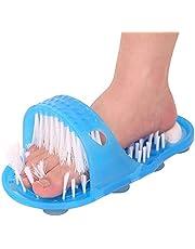 Siliconen antislip Voet Borstel Plastic Bad Douche Massager Slippers Puimsteen Voet Scrubber Verwijderen Dode Huid Voetverzorging Tool