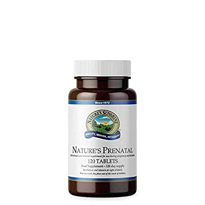 Nature's Sunshine Nature's Prenatal Multi Vitamin Mineral Blend (120) by Nature's Sunshine