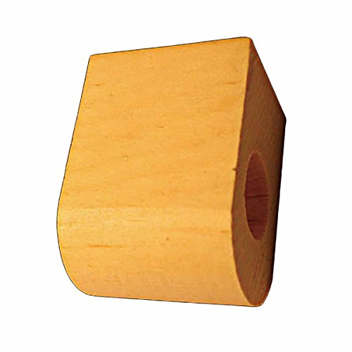 "Curtain Rod Coupler Support Country Pine 3"" Projection 