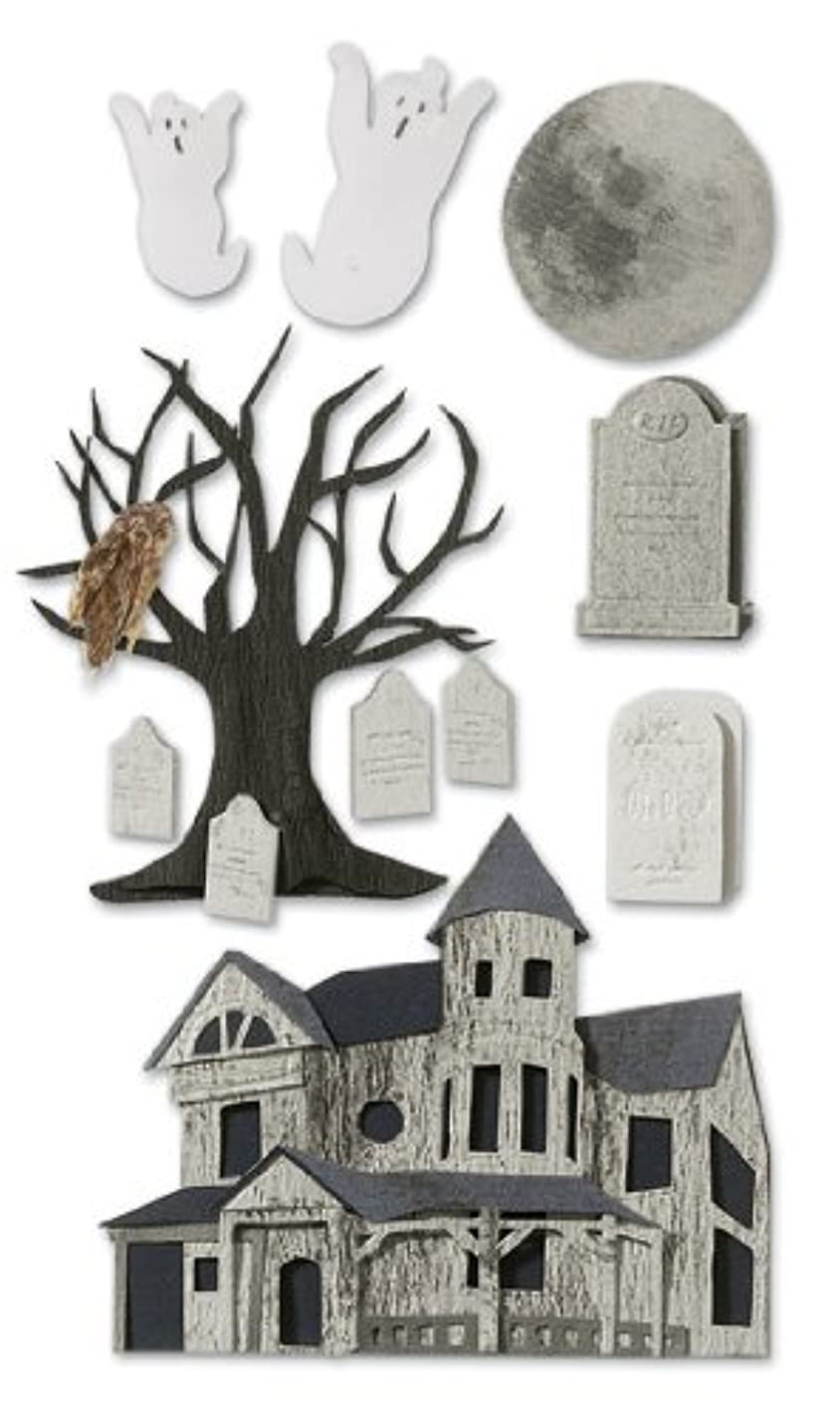 Jolee's Boutique Dimensional Stickers, Haunted House