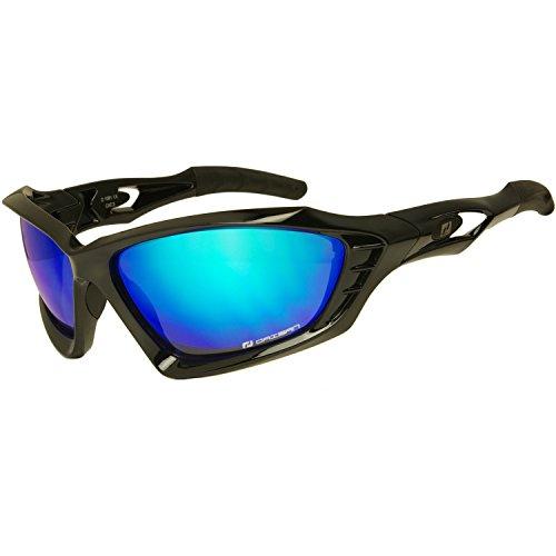 Details zu Daisan Sonnenbrille Sportbrille polarisierende Scheiben für Damen und Herren