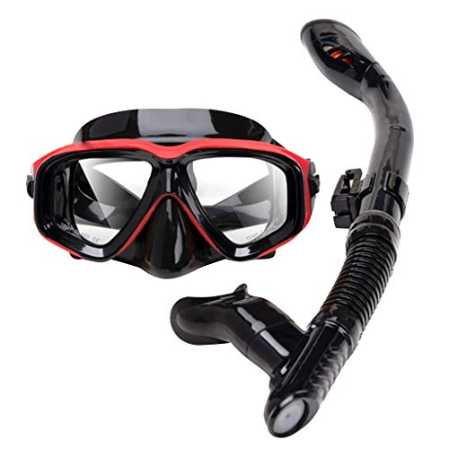 Learn More About FEDULK Unisex Snorkel Set Snorkeling Equipment Silicone Diving Snorkeling Glasses S...