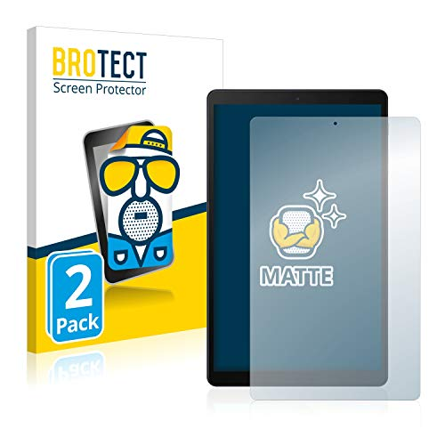 BROTECT 2X Entspiegelungs-Schutzfolie kompatibel mit Samsung Galaxy Tab A 10.1 2019 WiFi Displayschutz-Folie Matt, Anti-Reflex, Anti-Fingerprint