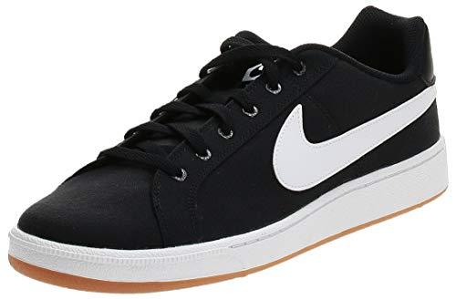 Nike Court Royale Canvas, Scarpe da Tennis Uomo, Nero (Black/White/Gum Light Brown 000), 46 EU