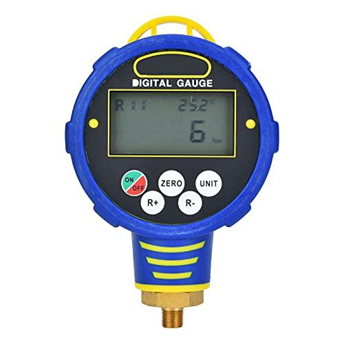 Manómetro digital Herramienta refrigerante para aire acondicionado de baja presión R32