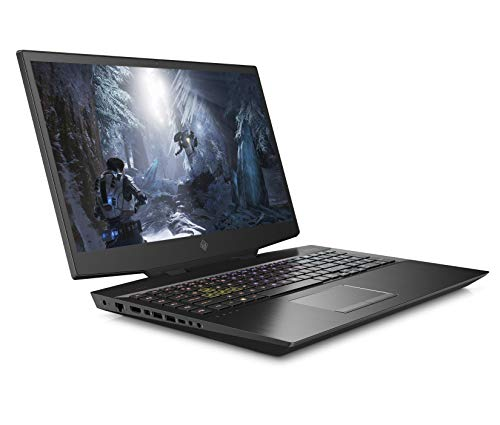 HP OMEN 17-cb0003na 17.3 Inch FHD 144 Hz Gaming Laptop, Intel Core i7-9750H, 8 GB RAM, 512 GB SSD, 1 TB HDD, NVIDIA GeForce GTX 1660 Ti (6 GB GDDR6 Dedicated) Graphics, Windows 10 Home - Black