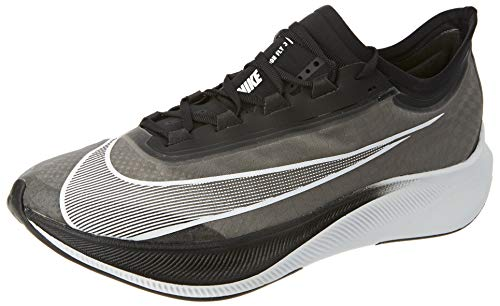 Nike Men's Zoom Fly 3 Running Shoe, Black/White-Volt, 6 UK