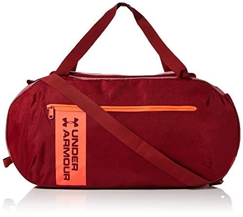 Under Armour Herren UA Roland Duffle MD vielseitige und robuste Sporttasche für Männer, Duffel Bag mit praktischen Fächern, Rot (Cordova), Einheitsgröße