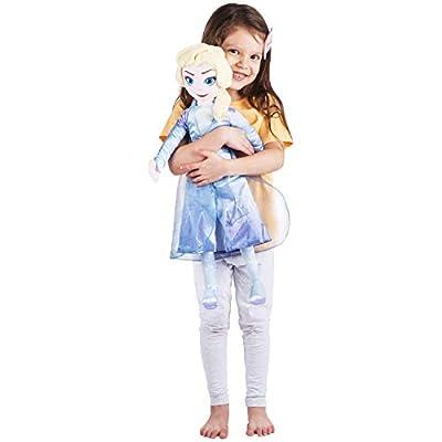 Franco Kids Bedding Super Soft Plush Snuggle Cuddle Pillow, One Size, Disney Frozen 2 Elsa