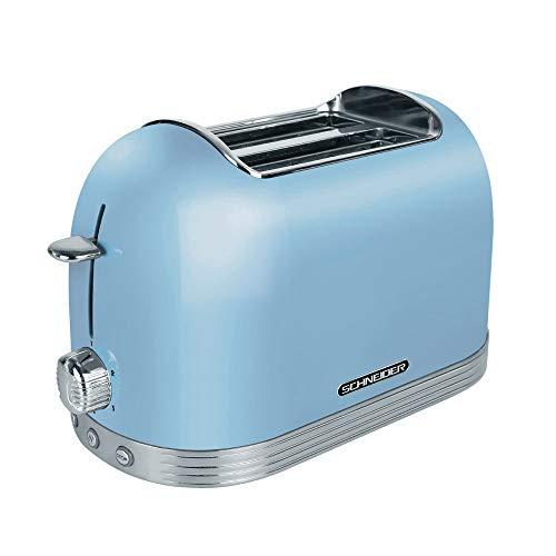 tostapane 850w 2 fette Schneider Comsumer SL T2.2 LB tostapane 2 fetta/e Blu 850 W