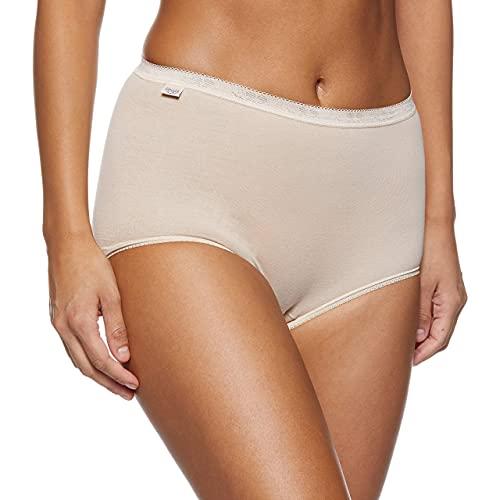 Sloggi Braguitas básicos + Confort Premium (Pack de 3) para Mujer