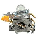 RENCALO Carburador Carb Primer Bombilla para Homelite Ryobi Trimmer ZAMA C1U-H60