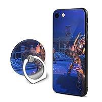 Iphone8 ケース リング付き Iphone7 ケース ストラップホール付き 落下防止 耐衝撃 アイフォン 7/8 ケース透明 Tpuシリコン 軽量 薄型 携帯カバー 人気